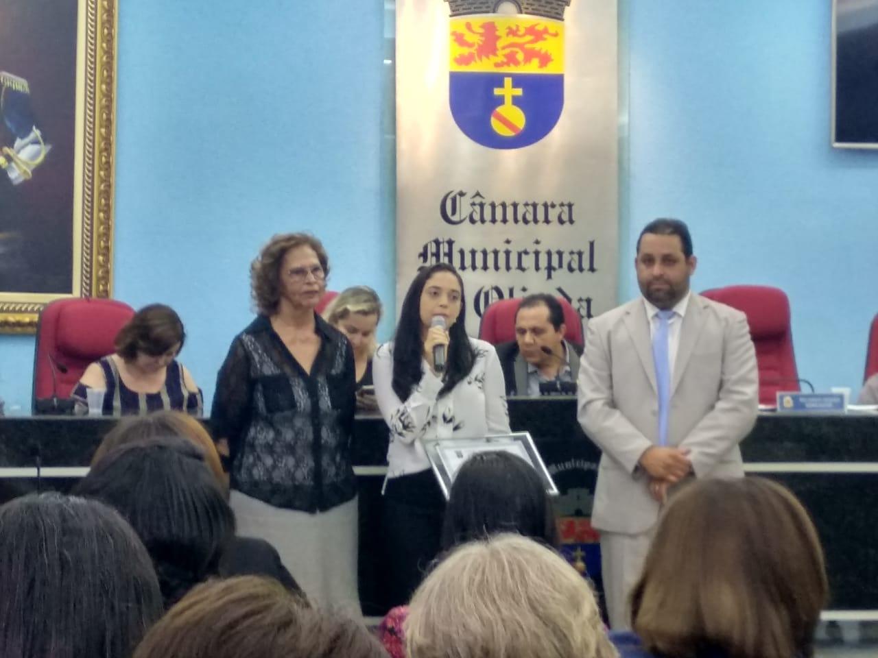 Profissionais do HTRI recebem homenagem da Câmara Municipal de Olinda